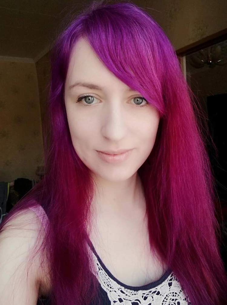 fuchsia roze haarkleuren