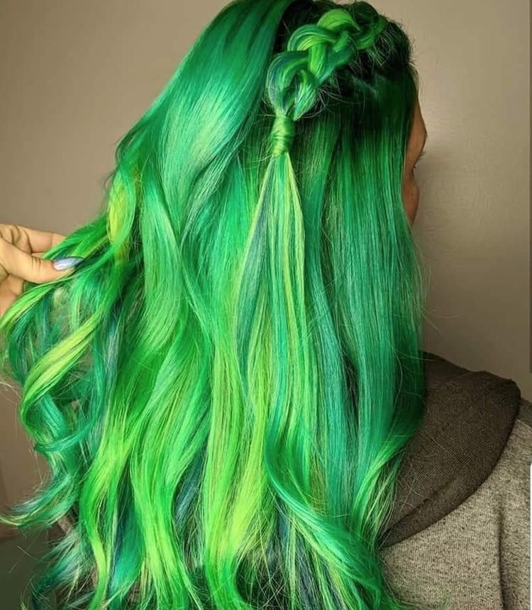 groene-haarkleur
