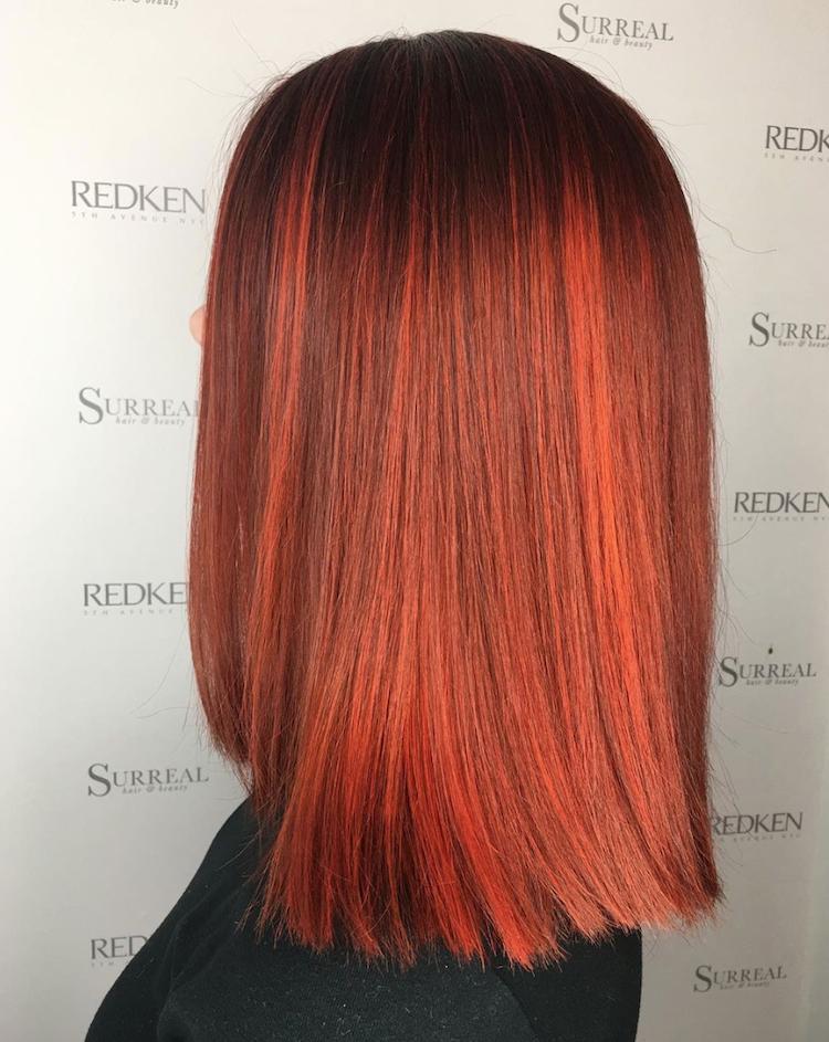 oranje haarkleuren