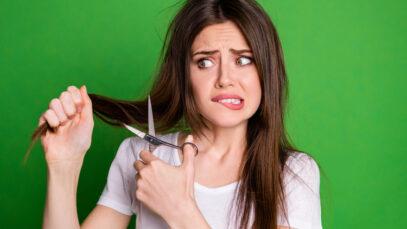 zelf je haar knippen